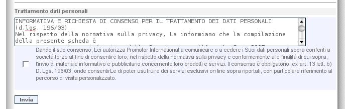 SMAU - privacy