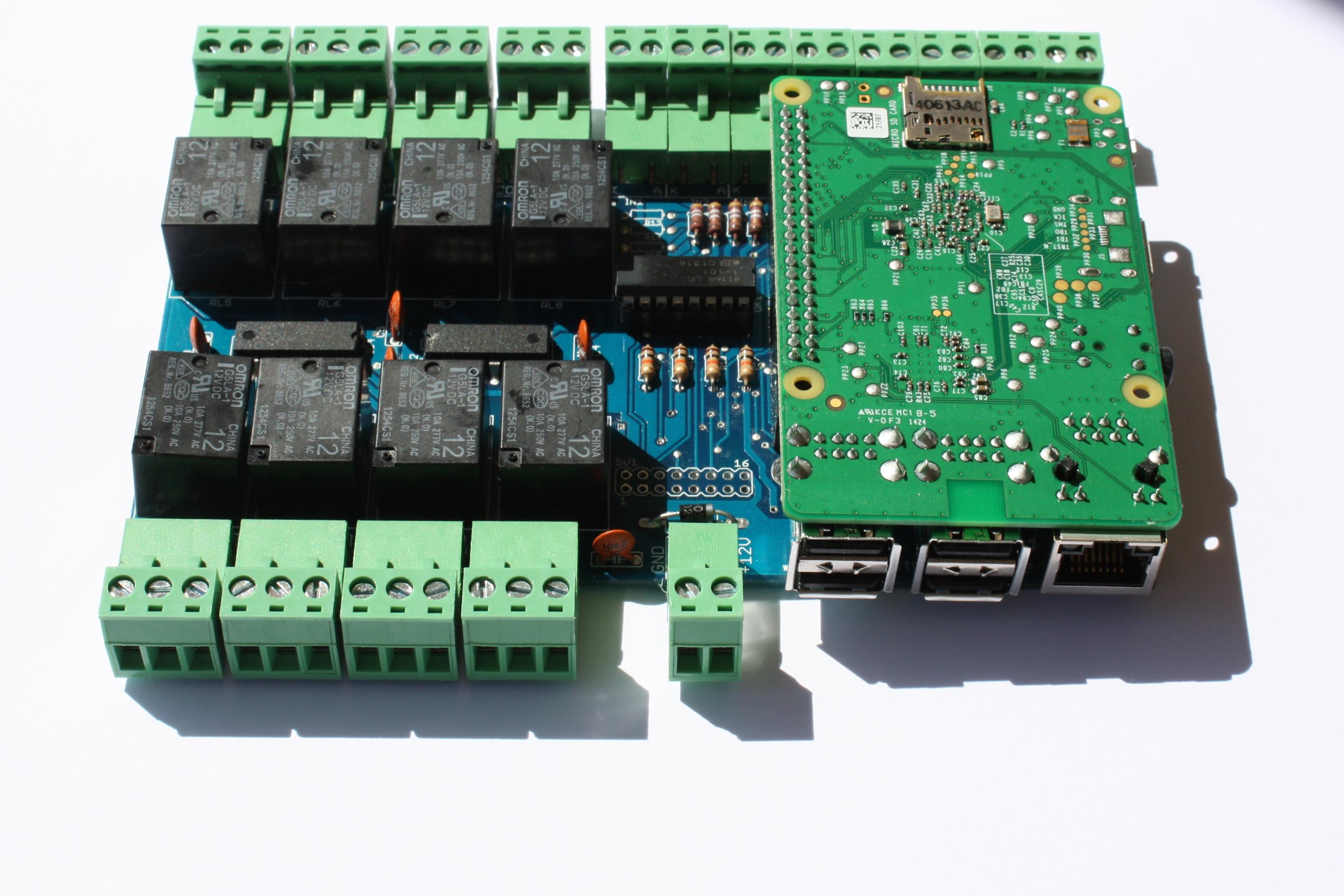 OssoPI Raspberry PI 1 B Or 2 IO Expansion Board